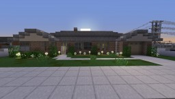 1960s Ranch Bungalow - Greenfield Replica Minecraft Map & Project
