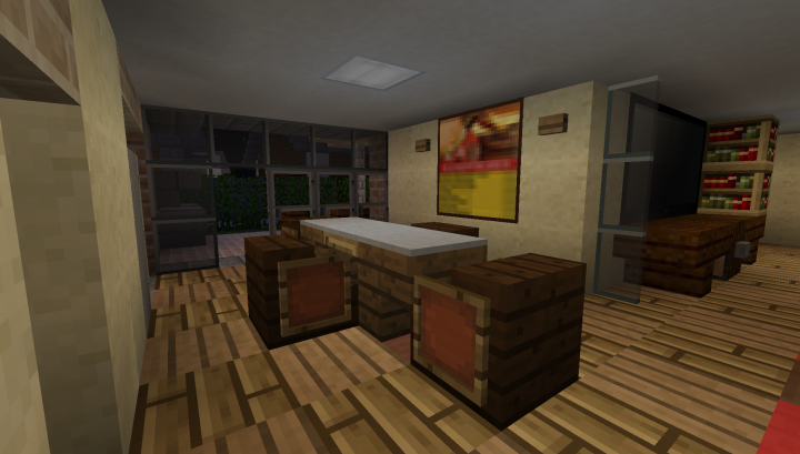 South Barrington Dining Room Project: Greenfield Replica Minecraft Project