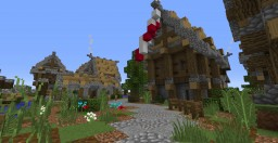 Medieval Village - By PointlessPharaoh Minecraft Map & Project
