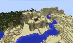 AoE II Middle East Castle of Saceni Minecraft