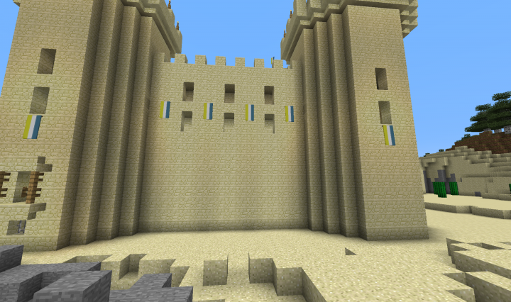 Aoe ii middle east castle of saceni minecraft project