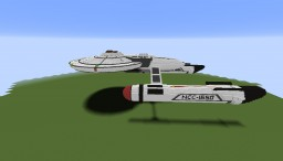 U.s.s. Ares from Axanar Minecraft Map & Project