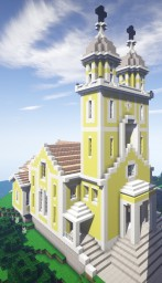METROPOLITAN CATHEDRAL Minecraft Map & Project