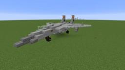 McDonnel Douglas F-15 Eagle Minecraft Project