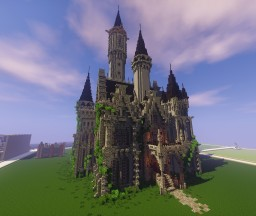 Gothic Castle (Now with download) Minecraft Map & Project