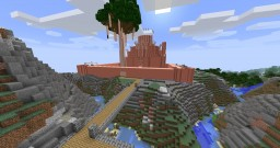 Space Horses World and Meat Disney Minecraft Map & Project