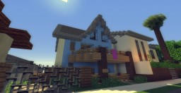 Seas The Day Beach House- Greenfield Project Minecraft Project