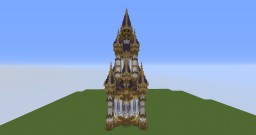 Tower neptune Minecraft Map & Project