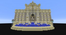 Fontana Di Trevi - Itály Minecraft Map & Project