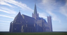 Nidaros Cathedral, Norway -Now with schematic!- Minecraft