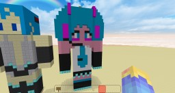 Hatsune Miku House 6x8 Minecraft Project