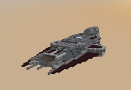 Tuchov-Class Fast Fire Support Ship Minecraft Map & Project