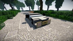 normal vehicles of /warp vehicles on OCD part 1 Minecraft Map & Project