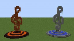 Musical Statue (Treble) Minecraft Map & Project