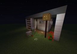 World Mini Modern House Minecraft Map & Project