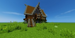 Medieval/Rustic Style Home Minecraft Map & Project