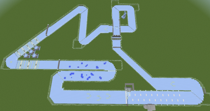 1 9 Ice Boat Racing Minecraft Map Having ice tunnels with low ceiling was faster, still. 1 9 ice boat racing minecraft map