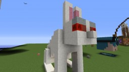 Killer Bunny Statue Minecraft Map & Project