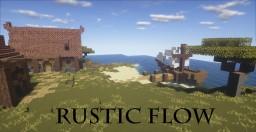 Rustic Flow | 16x16 (WIP)