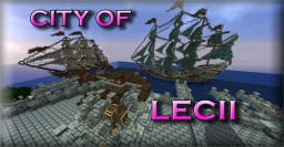 City Of Lecii   Fantasy Medieval Build Minecraft Map & Project