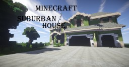 Suburban House | Concept Minecraft Project