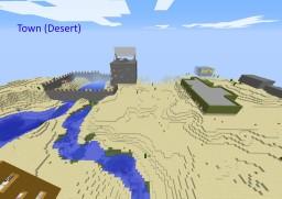 Town (Desert) Minecraft Map & Project