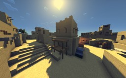 CS:GO Minecraft DE_DUST2 Minecraft