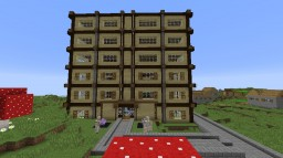 Hotel Cress Minecraft Map & Project