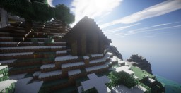 Small Mountain House Minecraft Map & Project
