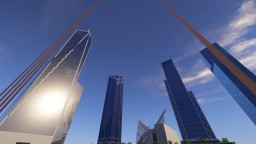 The New World Trade Center 1:1 Minecraft Map & Project