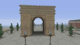 Arc de Triomphe Minecraft Project