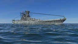 3:1 scale Battleship Yamato Minecraft Project