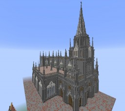 Las Lajos Cathedral Minecraft Map & Project