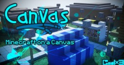 (HD Minecraft) Canvas 128x128, 64x64: Minecraft in Brush, Up. #24