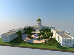 West Virginia State Capitol Replica Minecraft Map & Project