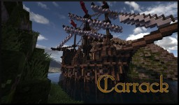 Fantasy Carrack (Ship) Minecraft