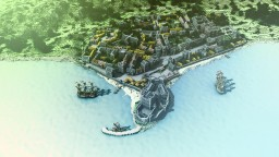 17th Century Carrickfergus Minecraft Map & Project
