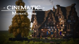 Large Medieval Home Minecraft