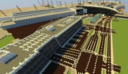 Kastrup 1-3 terminals Minecraft Map & Project
