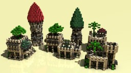 Medieval Desert Pack Minecraft Project