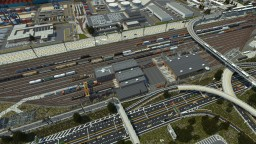 Huntington ENR Yard  | TRS Minecraft Map & Project