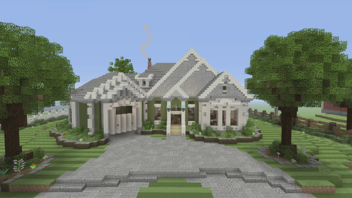 American Traditional House Minecraft Project