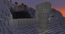 Mountain side fort Minecraft Map & Project