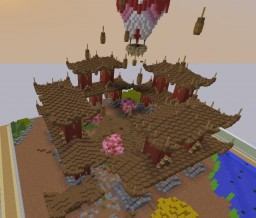 Japanese server spawn [GREAT SPAWN!] Minecraft Project