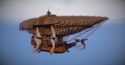 "Buckingham's airship (movie ""The Three Musketeers"") download link ;) Minecraft Map & Project"