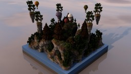 AnimaMC Server Spawn Minecraft Map & Project
