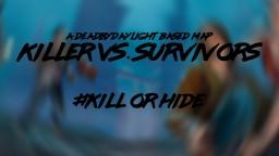 Killer Vs. Survivors Minecraft Map & Project