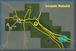 Rebuild Jurassic Park - Completed Minecraft Map & Project