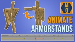 Easily animate armorstands! (Online generator tool) Minecraft Map & Project