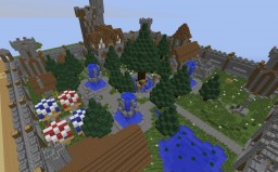 Small Medieval Village  (Server spawn?) Minecraft Project
